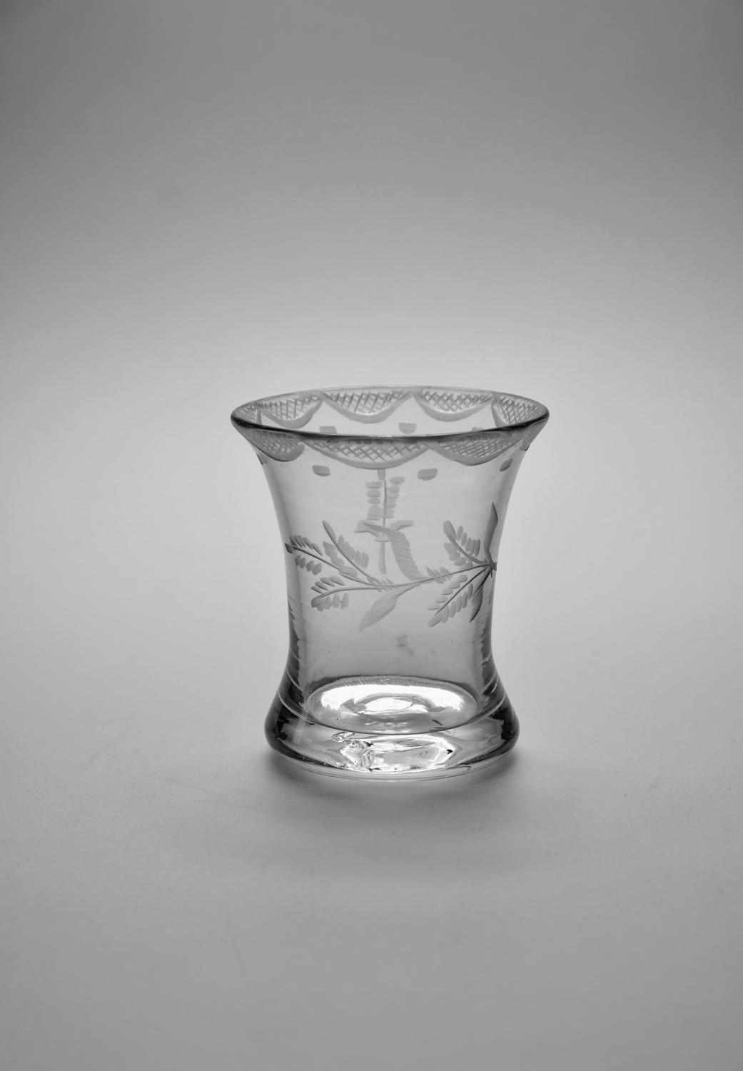 Miniature engraved tumbler C1790