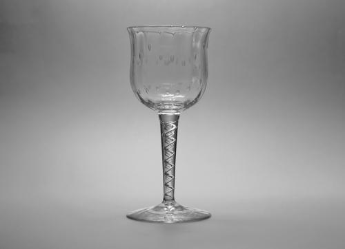 Wine Glass by Harry Powell C1880's
