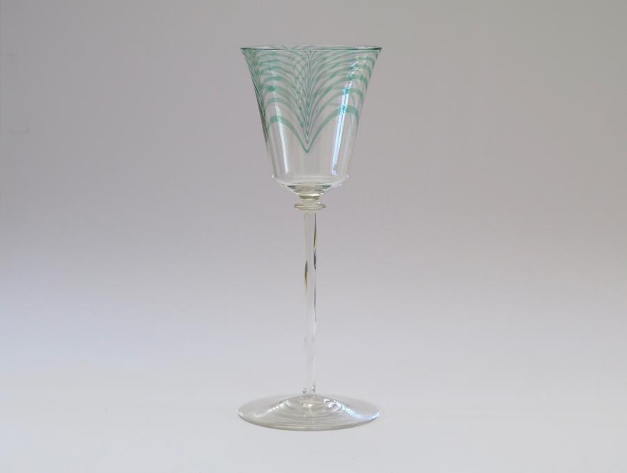 Wine Glass By Harry Powell 1906.