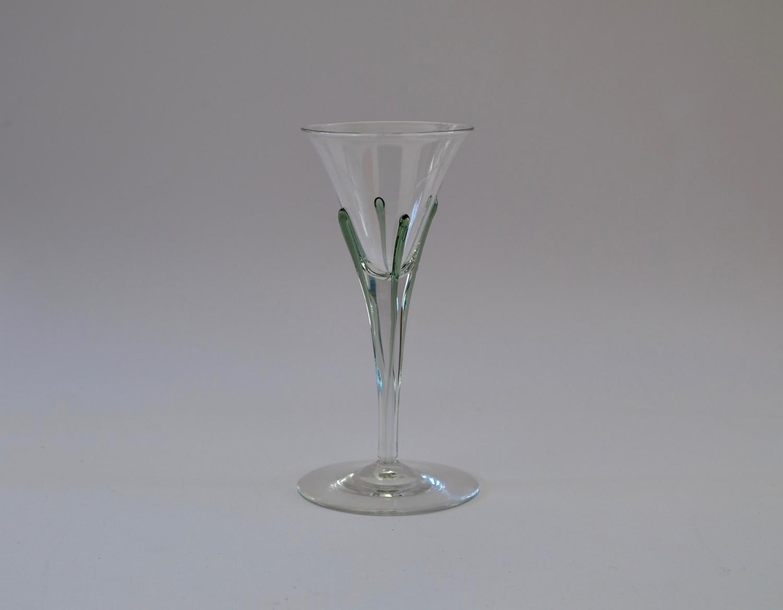 Tear Wine Glass Harry Powell 1899.