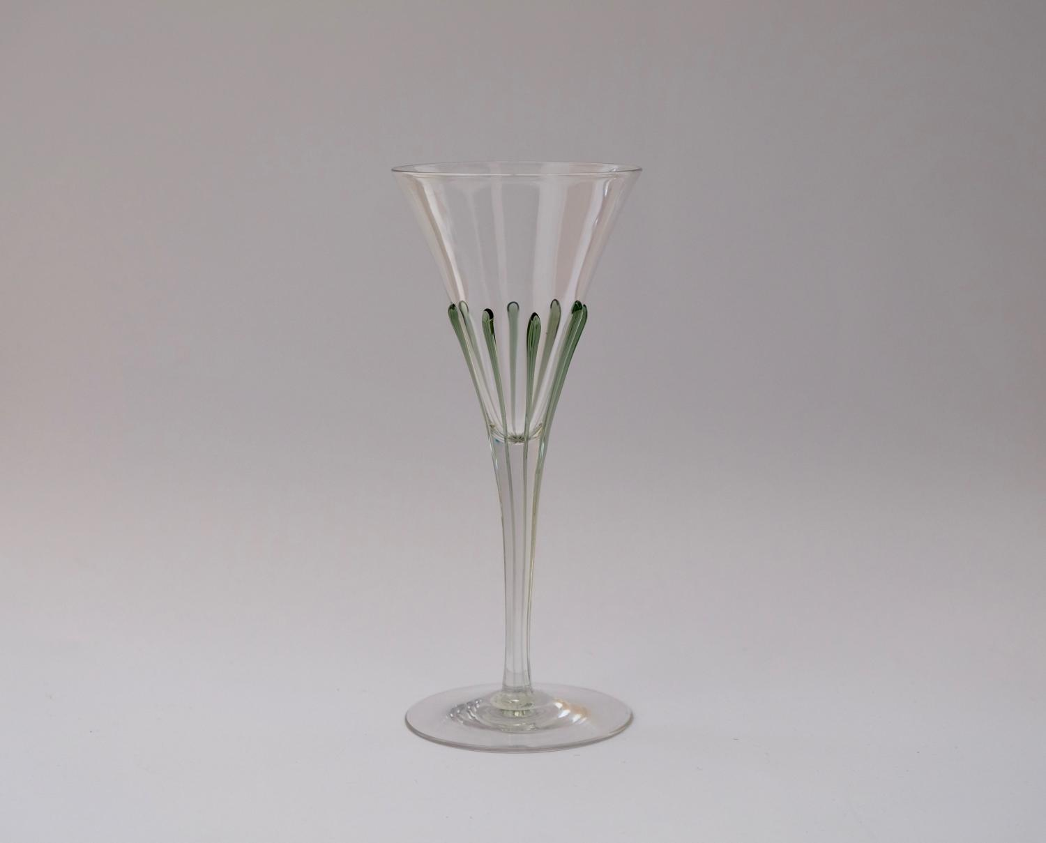 Tear Wine Glass 1899