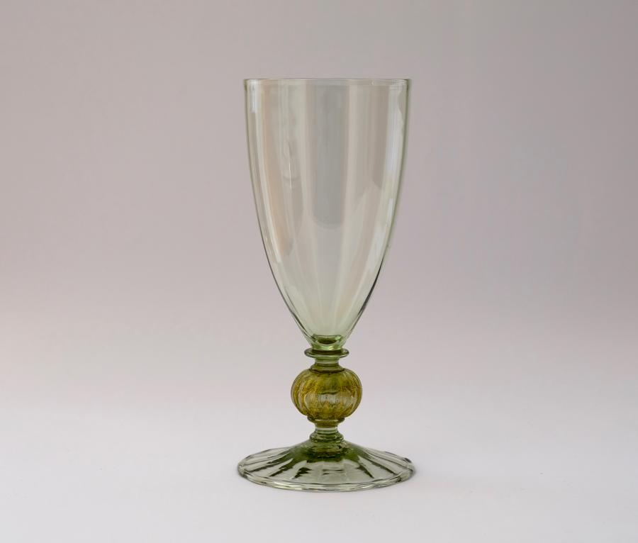 Sea Green Goblet Harry Powell C1905