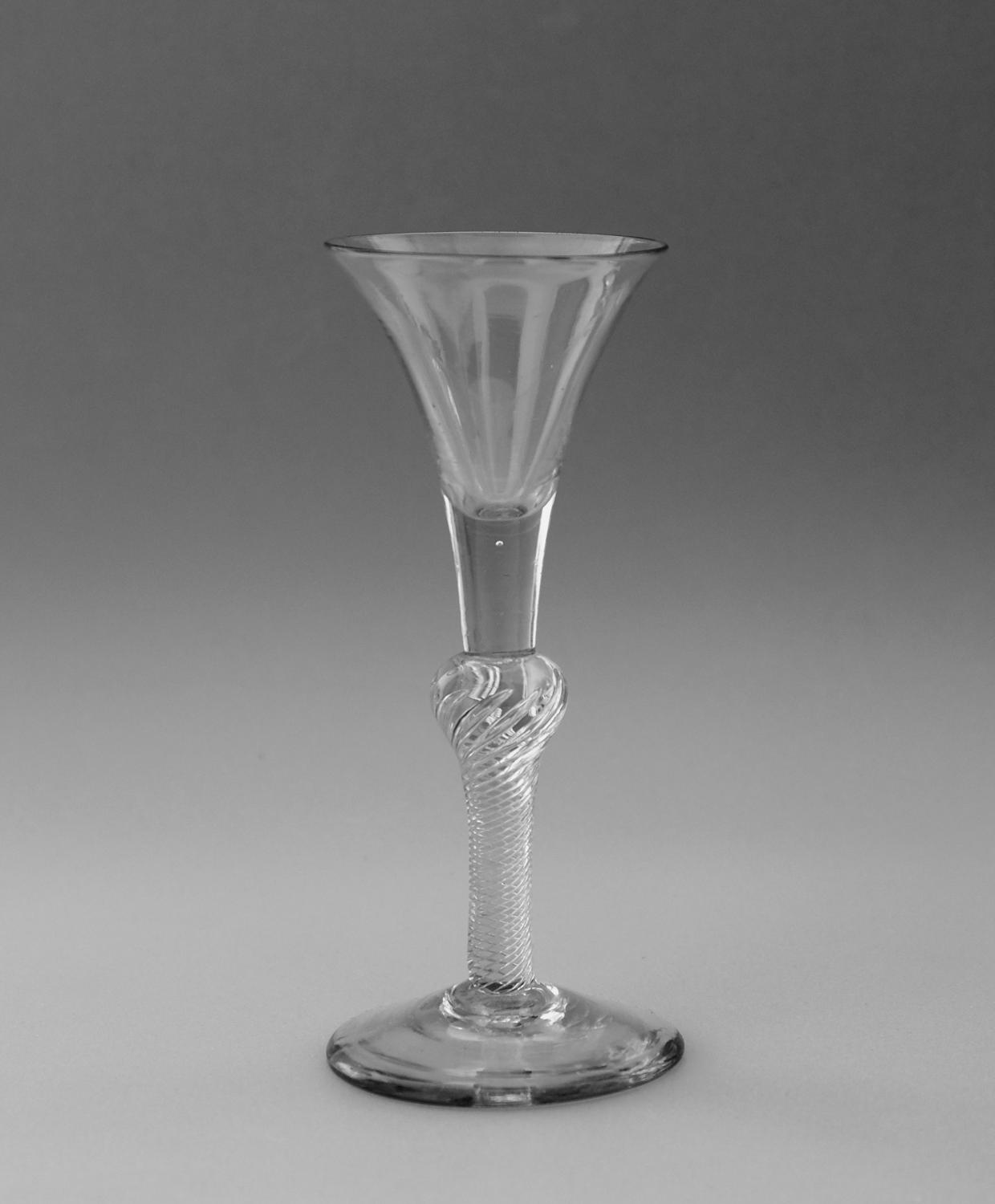 Composite stem wine glass C1750