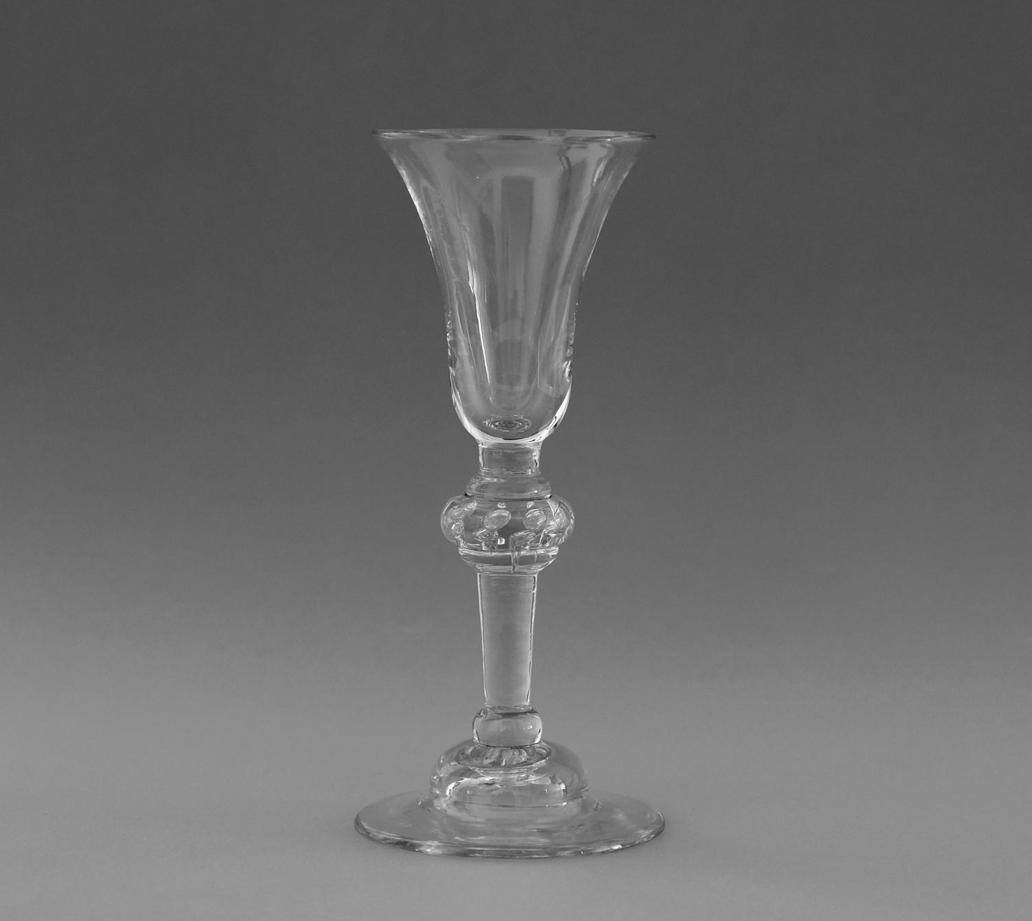 Light baluster wine glass C1735