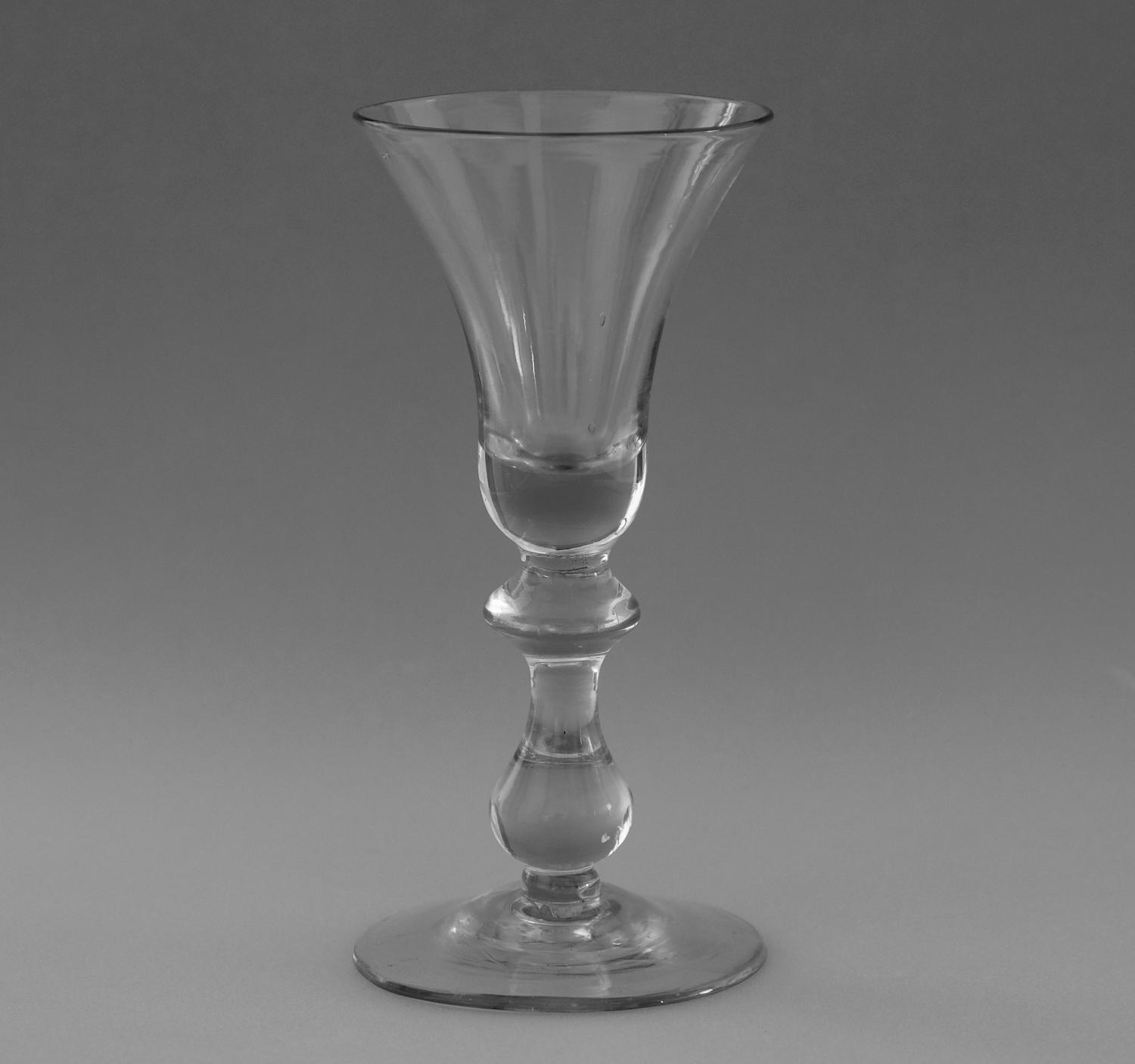 Baluster wine glass C1725-35