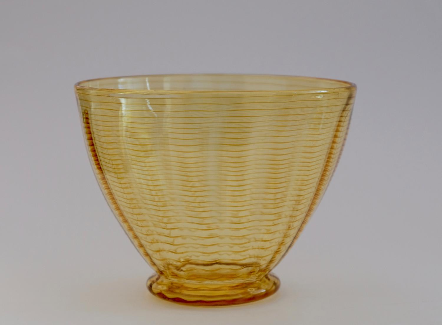 Threaded vase designed by William Butler 1930