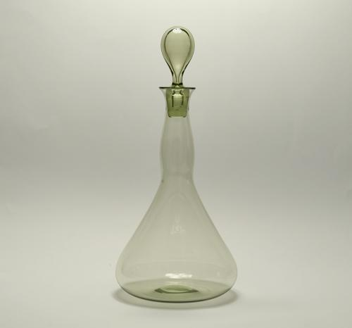 Decanter designed by Philip Webb C1900