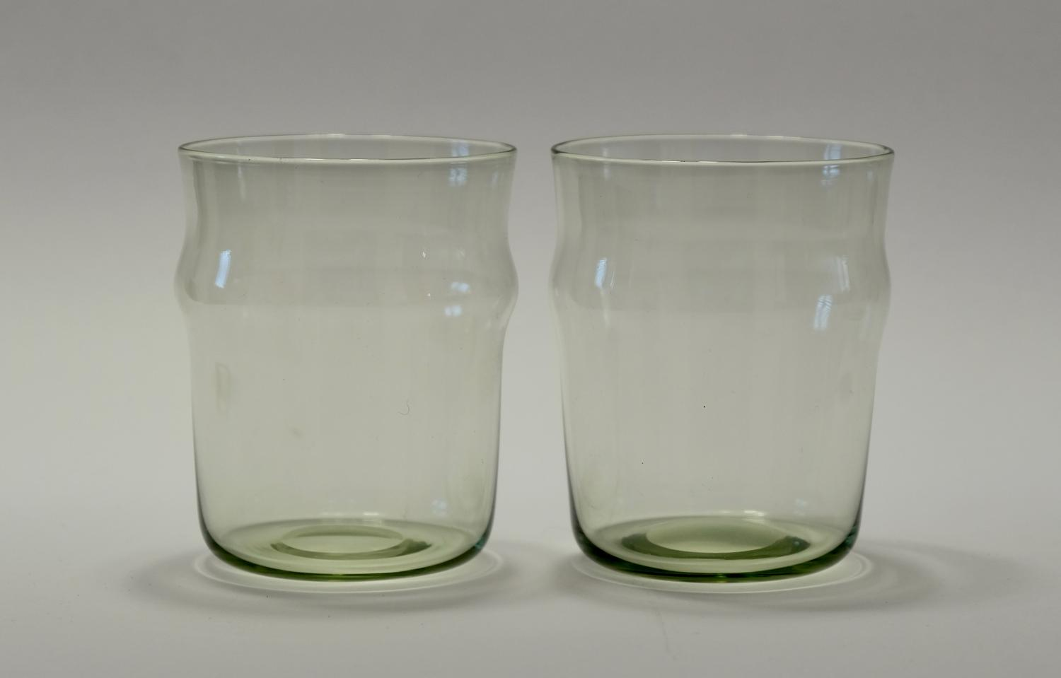 Pair of tumblers by Philip Webb C1900