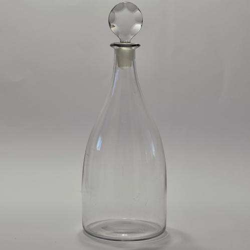 Plain taper decanter English C1780