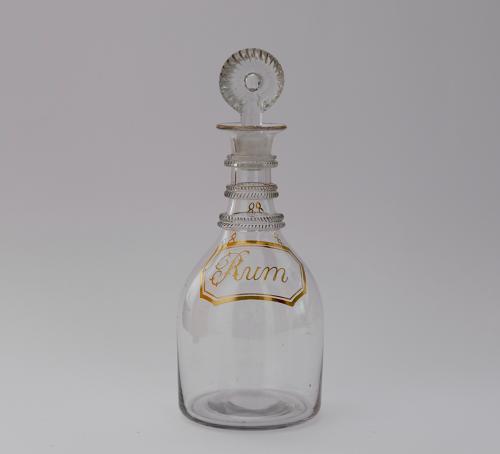 Half size rum decanter C1800
