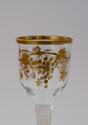 Wine glass with gilt decoration James Giles C1765. - picture 6