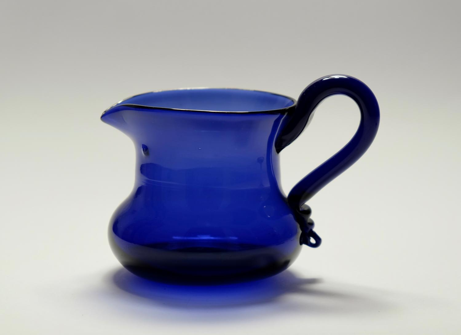 Blue cream jug C1830/40