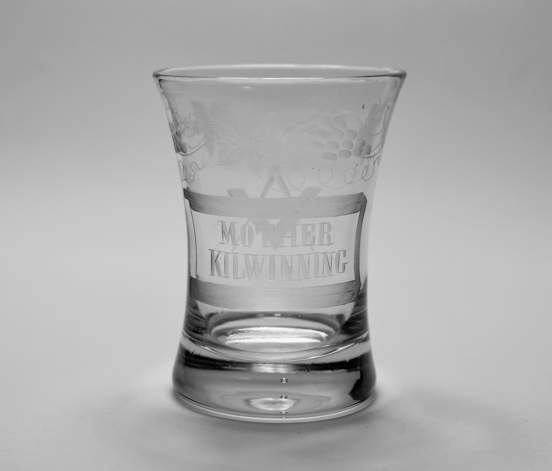 Masonic Tumbler Mid 19th Century.