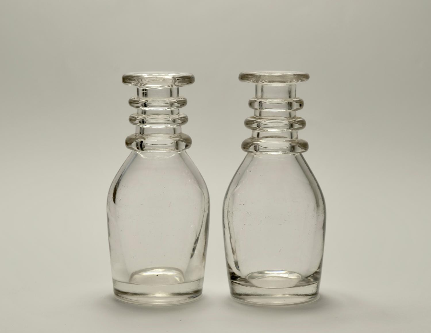 Pair of Individual carafes C1830
