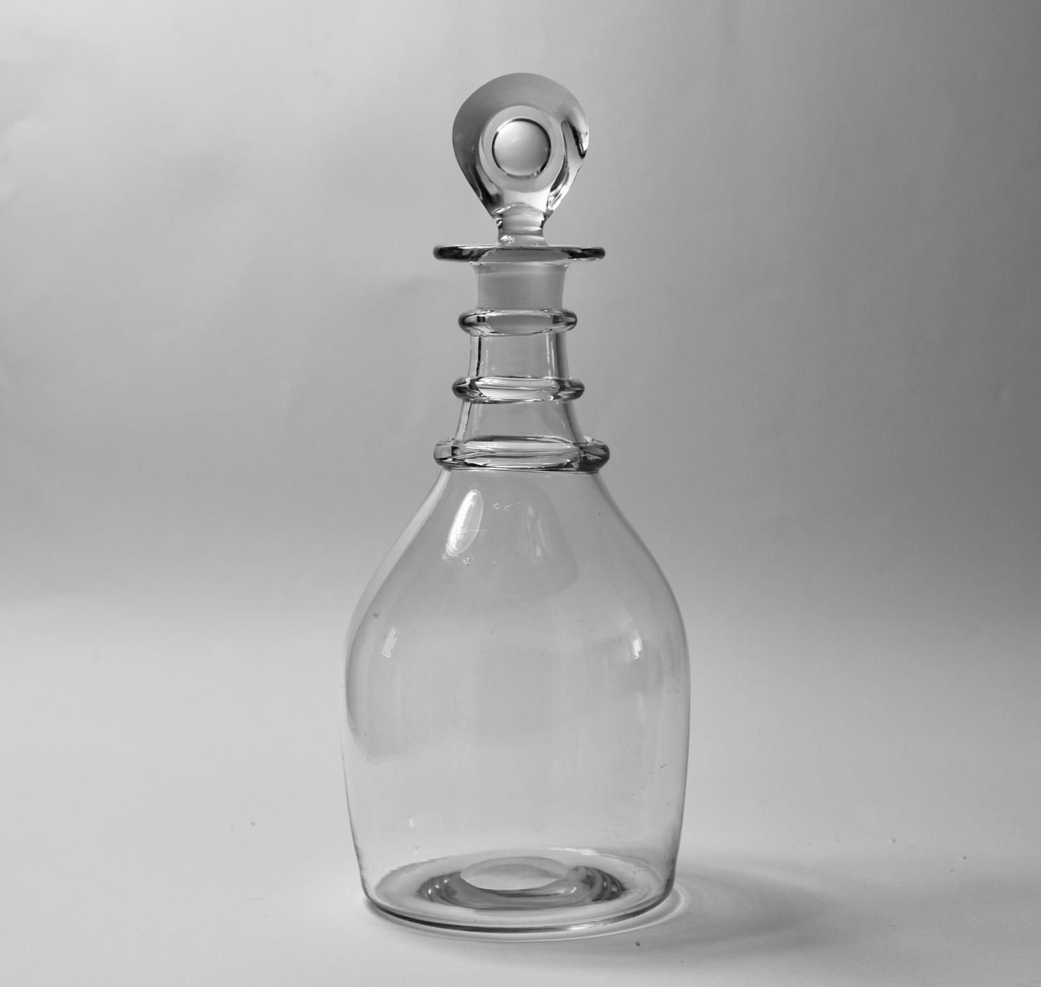 Plain decanter English C1820