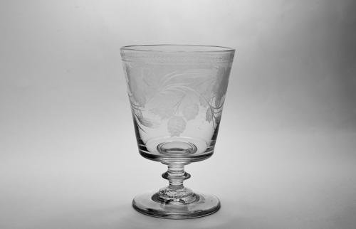 Engraved bucket bowl rummer C1820