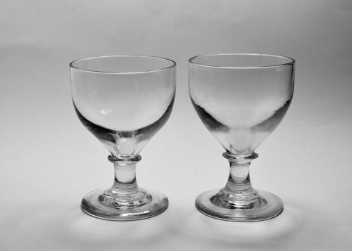 Pair of ovoid rummers C1810