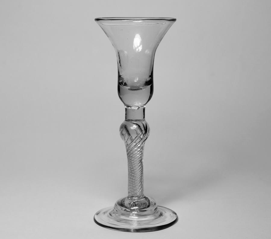 Composite stem wine glass C1755