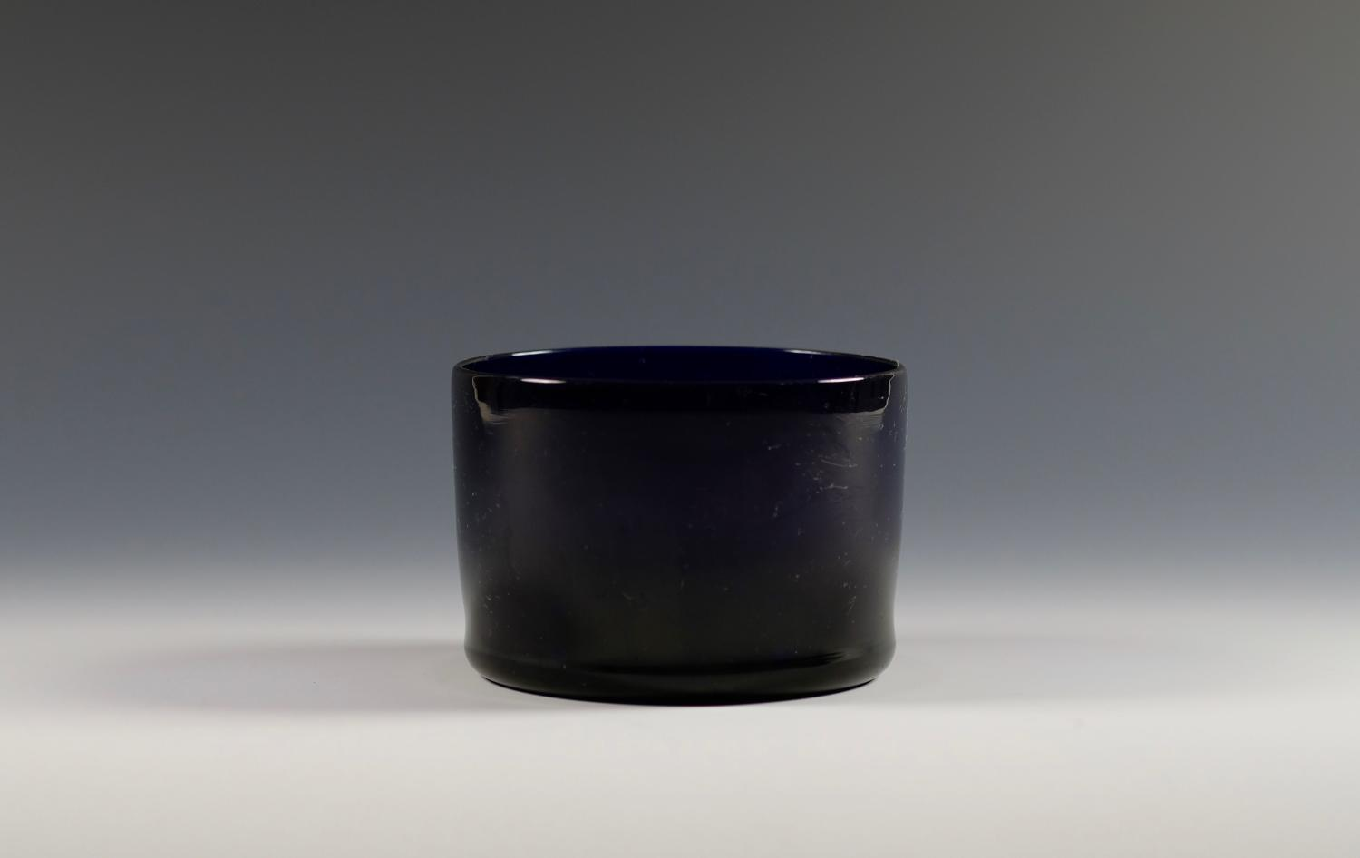 Blue finger bowl English C1820