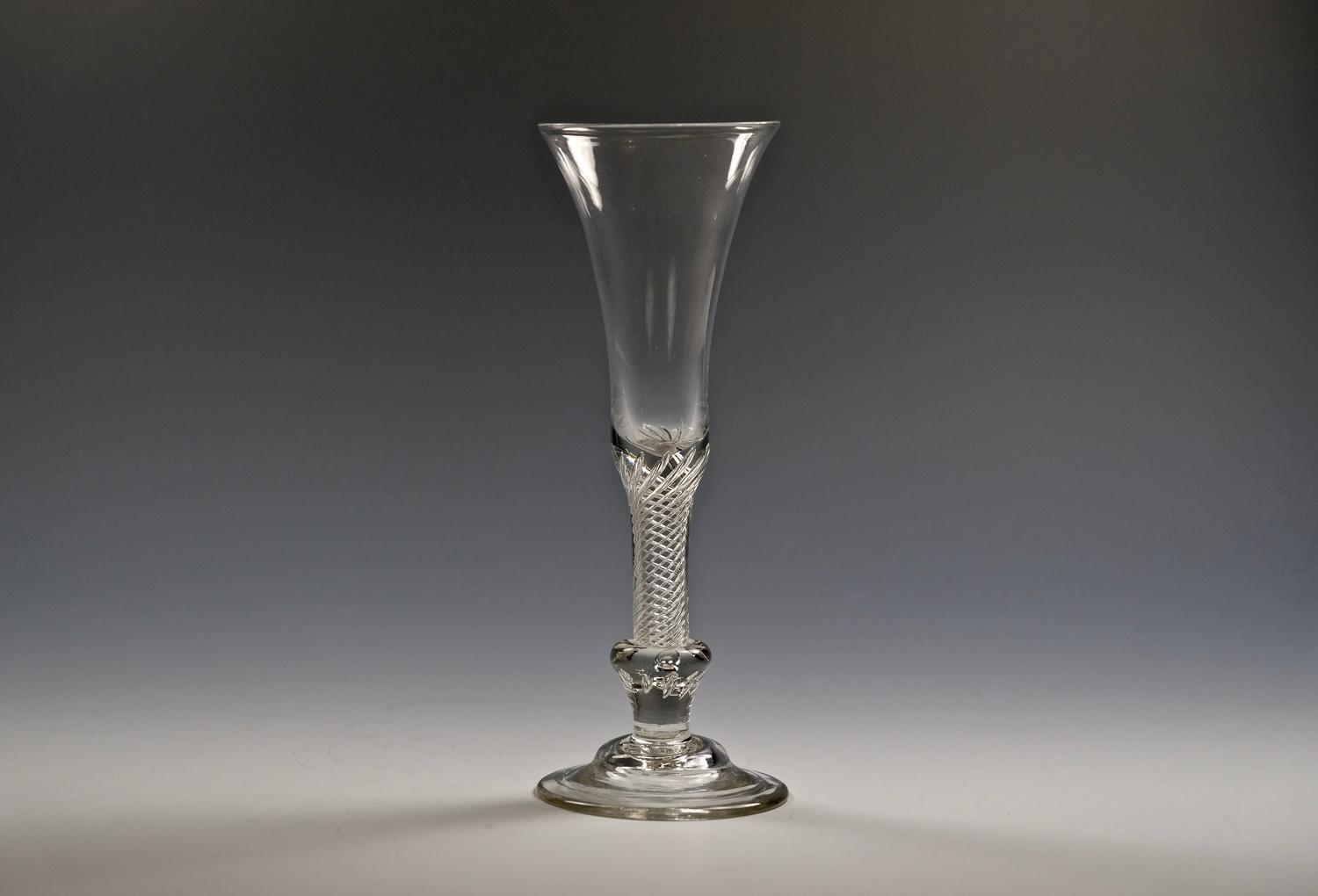 Composite stem ale glass C1750.