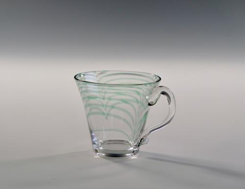 Rare Minerbi custard glass 1906