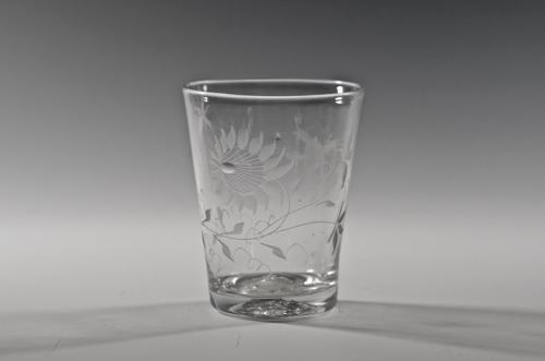 Engraved tumbler English C1780