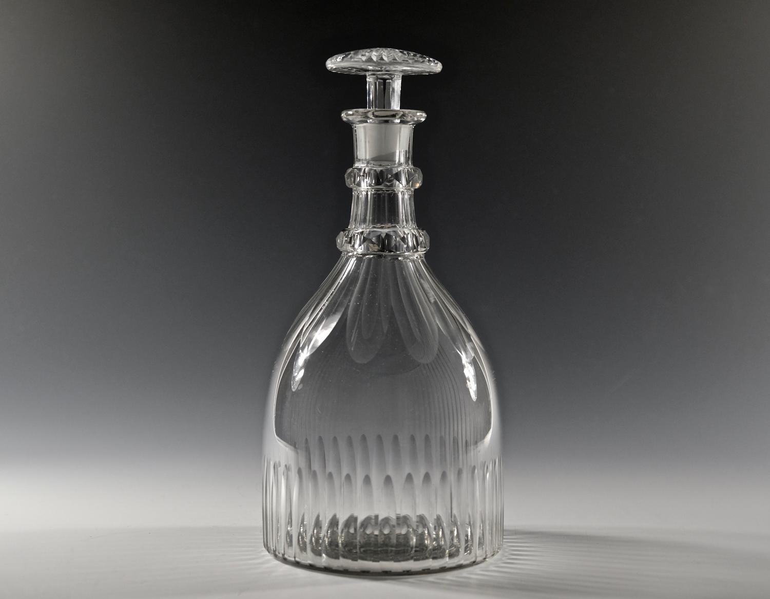 Decanter with mushroom stopper English C1830