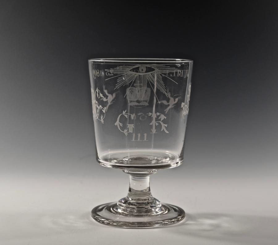 George III Jubilee rummer