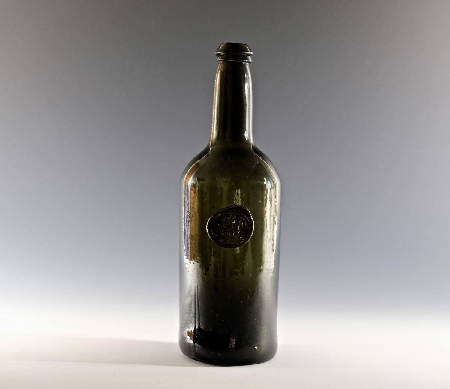 Sealed wine bottle The Hon. Robert Henry Clive C1780