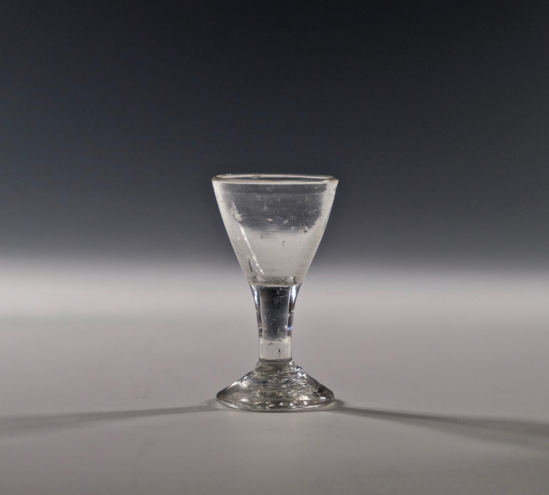 Miniature wine glass C1800