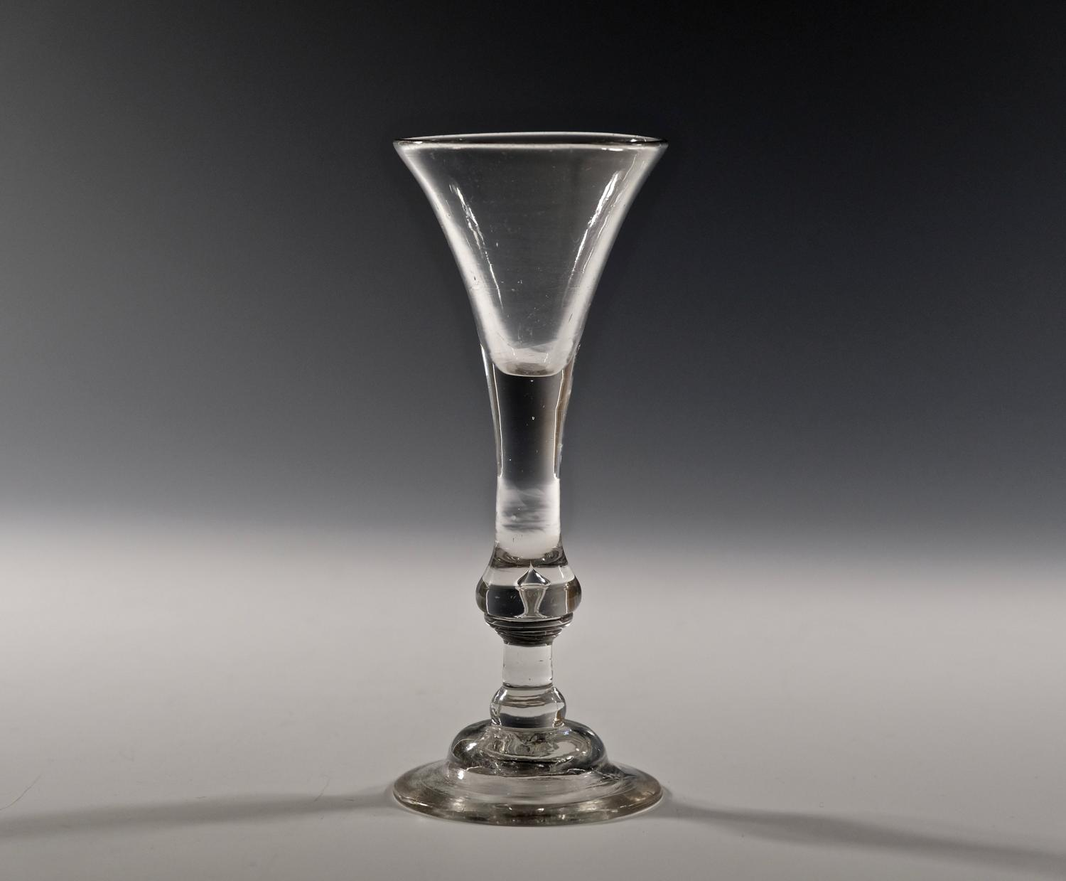 Balustroid wine glass C1735