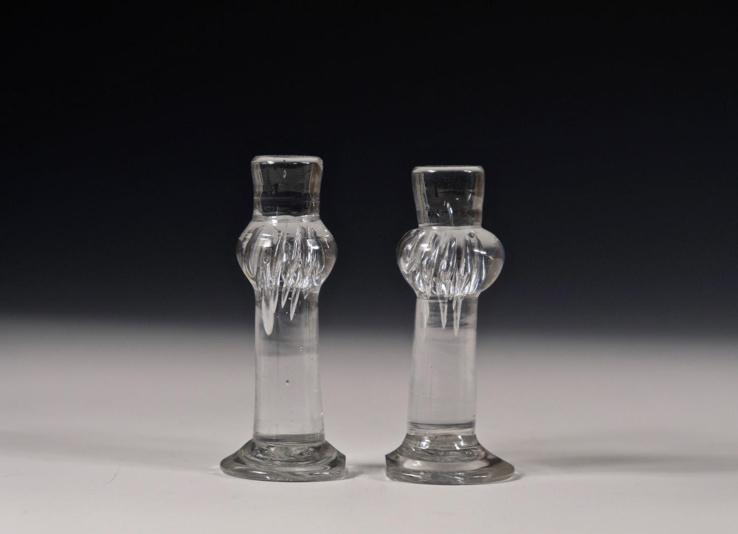 Pair of table stands / pillars English C1730-50