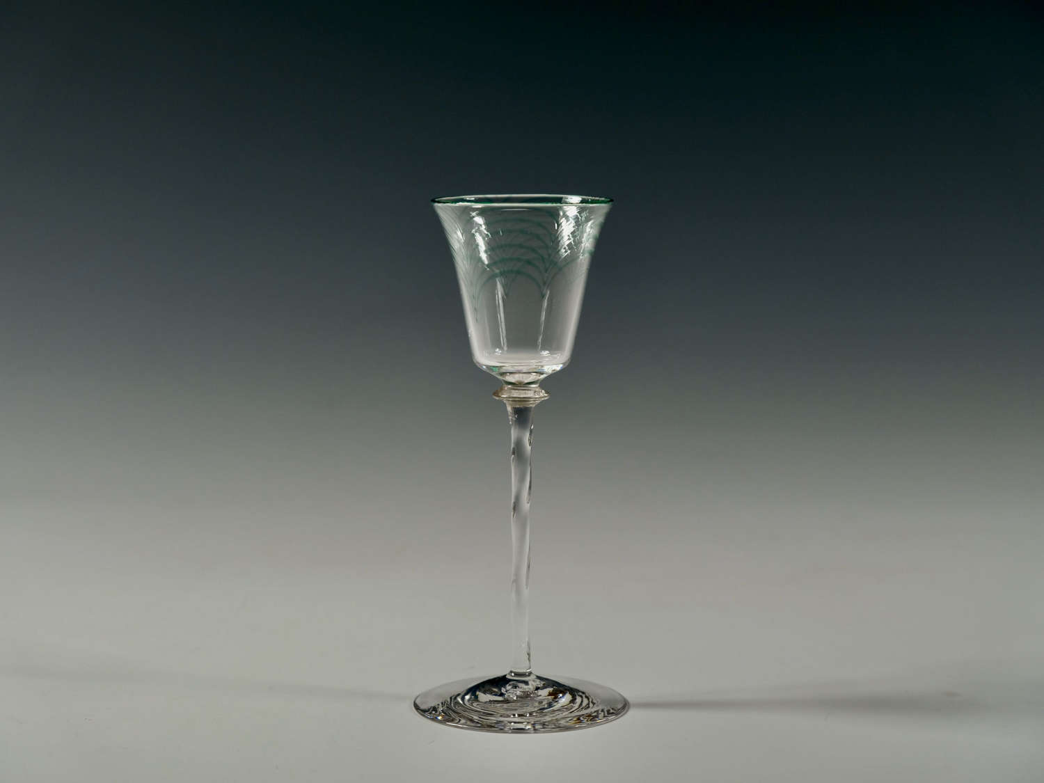 Minerbi liqueur glass 1906