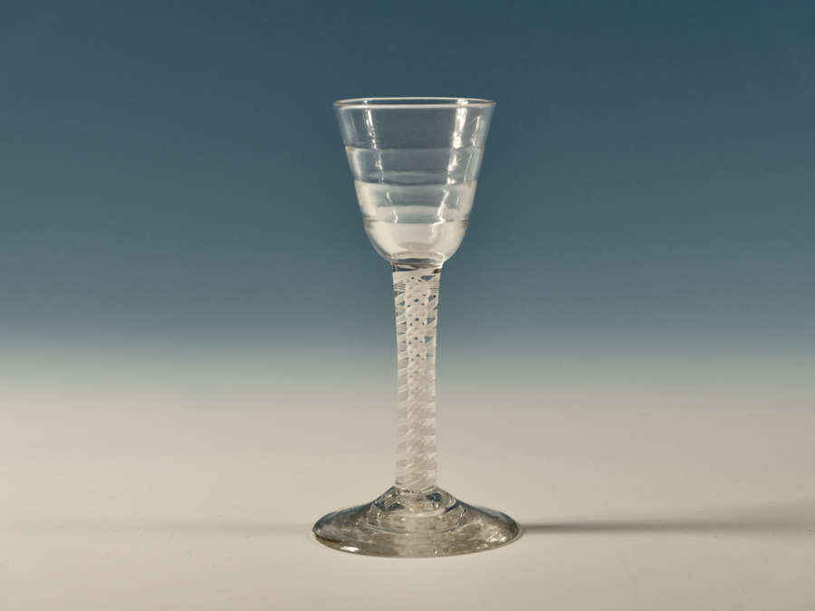 Opaque twist Lynn wine glass C1765
