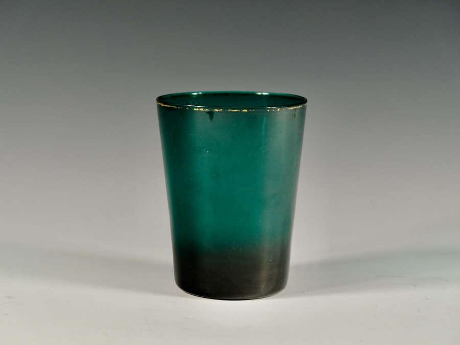 Rare green tumbler English c1780