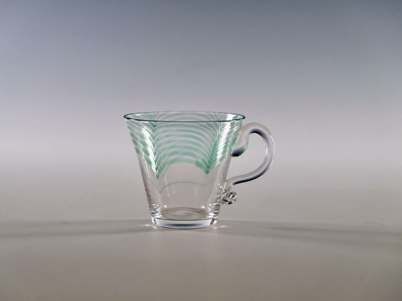 Rare Minerbi custard glass Harry Powell 1906
