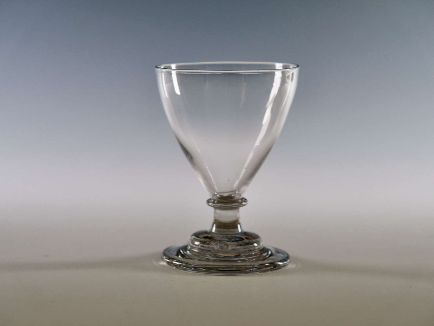 Ovoid rummer English c1790