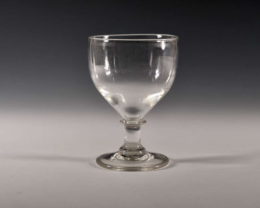 Ovoid rummer English c1800