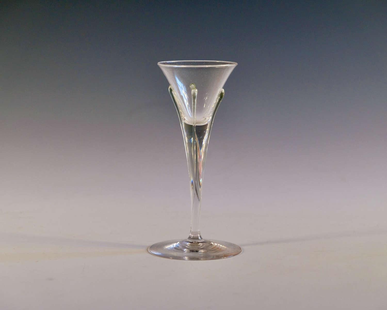Tear liqueur glass by Harry Powell 1899