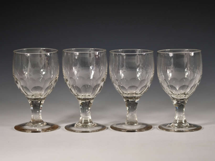 Rummers set of four c1860