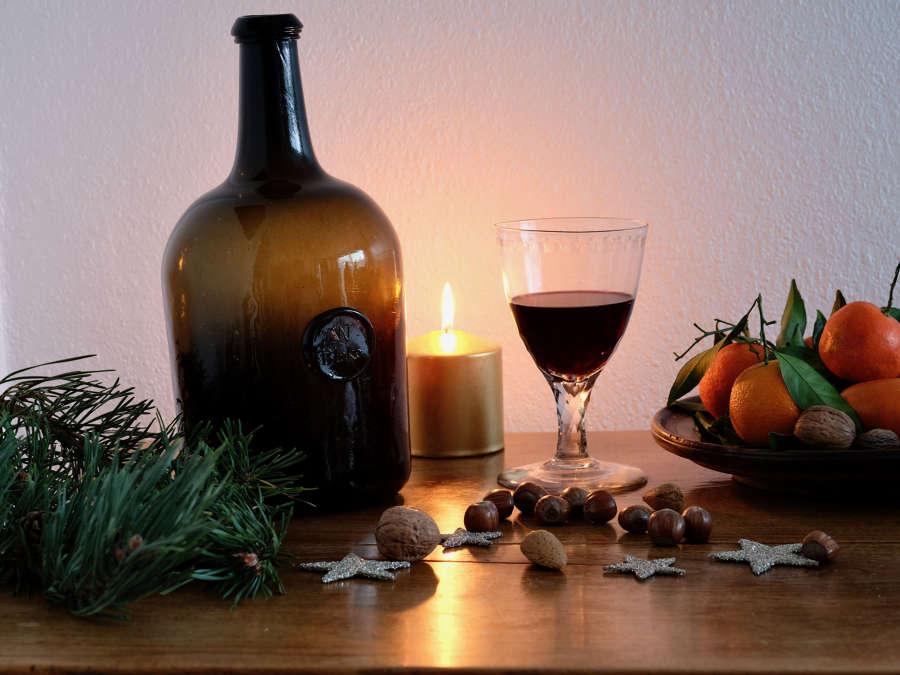 Wine bottle Magnum sealed W Blake c1785-895