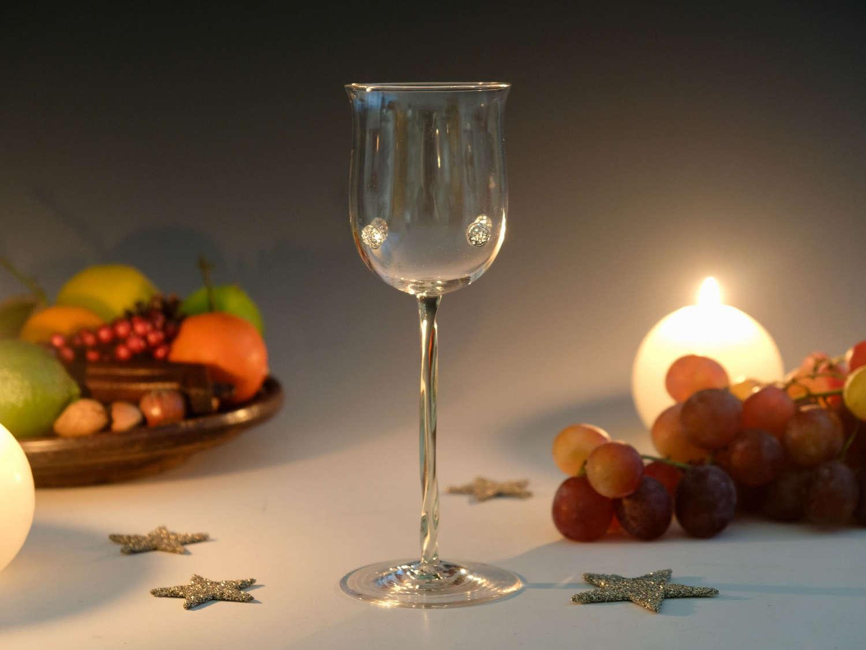 Wine glass Powell Whitefriars c1890