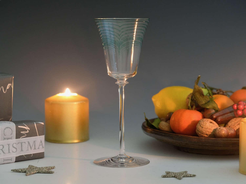 Wine glass Minerbi Whitefriars 1906