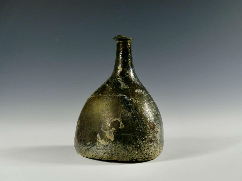 Antique wine bottle bladder English c1710