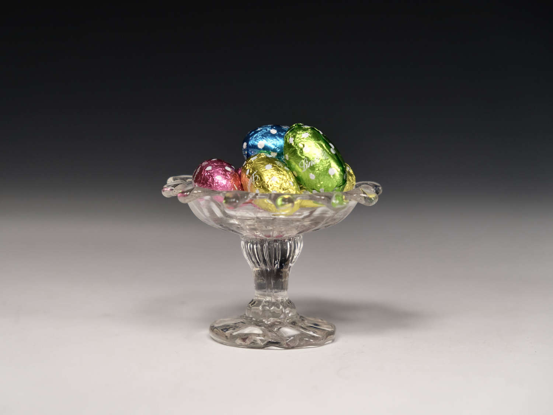 Antique sweetmeat glass English c1760