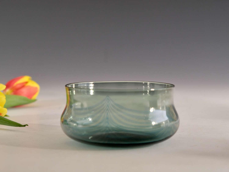 Antique glas finger bowl English c1900