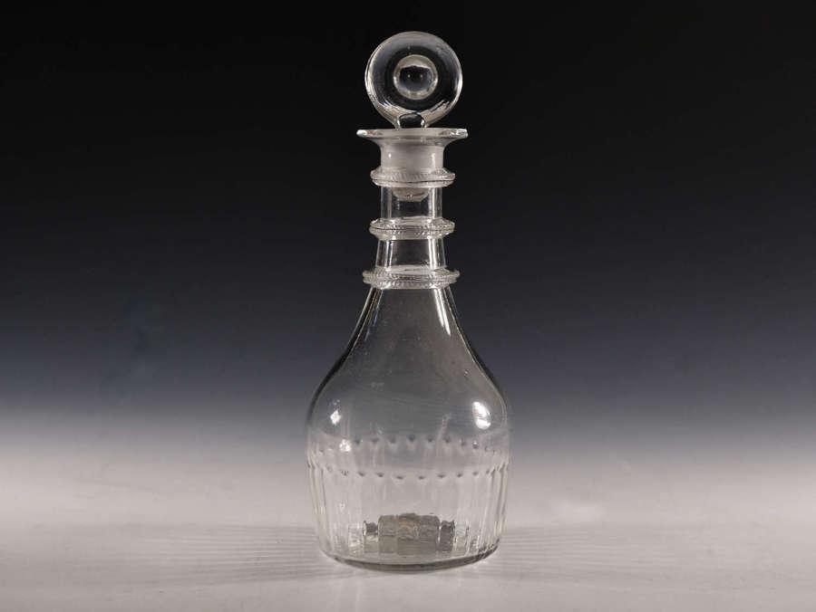 Antique Glass Decanter Cork Glass Co 1783 - 1818